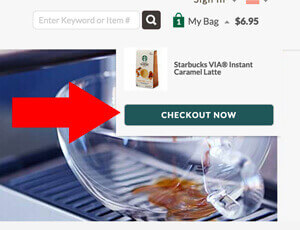 Starbucks - how to redeem coupon codes