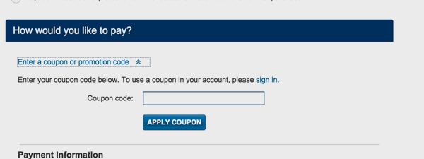 how to use coupon codes