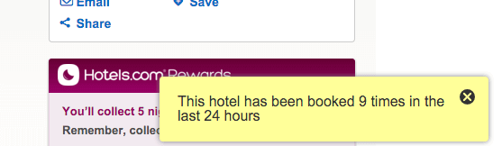 hotels.com customer experience